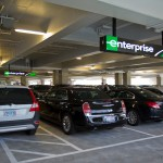 Enterprise car rental facility